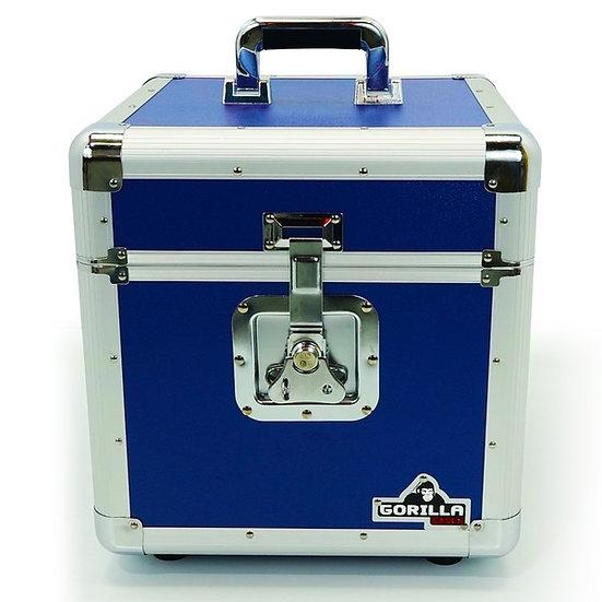 Gorilla LP-100B Vinyl Record Box Blue