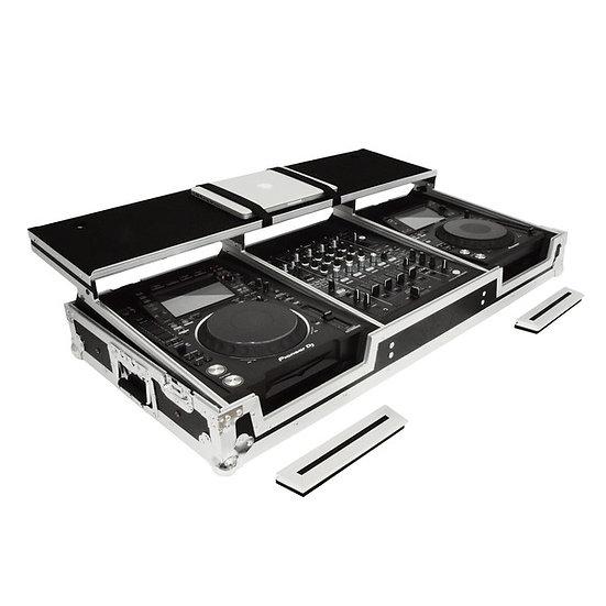 Gorilla Pioneer CDJ2000 / DJM900 Workstation Coffin Case inc Shelf