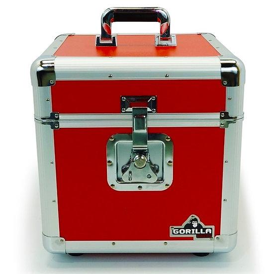 Gorilla LP-100R Vinyl Record Box Red