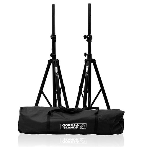 Gorilla Speaker Tripod Stands with Bag PAIR