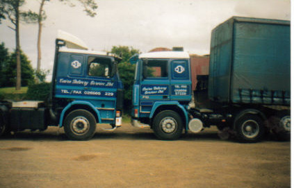 Two Cairn Delivery Service vehicles