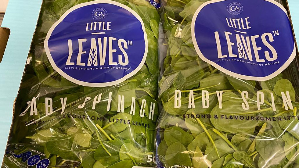 Pousse / Baby Spinach x 500g