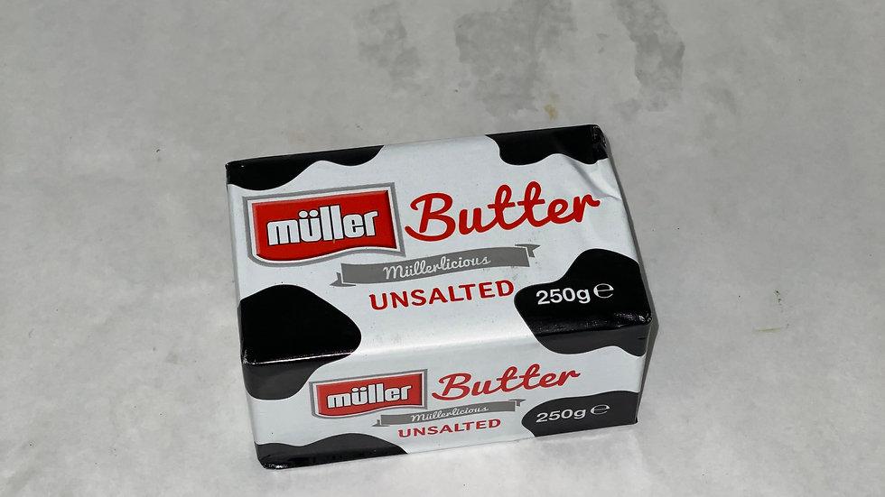 Butter Unsalted x 250g