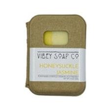 Honeysuckle Jasmine Soap Bar by Vibey Soap Co.