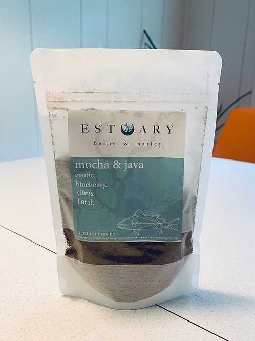 Mini Mocha and Java Grind Coffee by Estuary Beans and Barley
