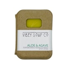 Aloe and Agave Soap Bar by Vibey Soap Co.