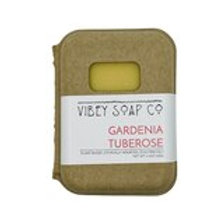 Gardenia Tuberose Soap Bar by Vibey Soap Co.