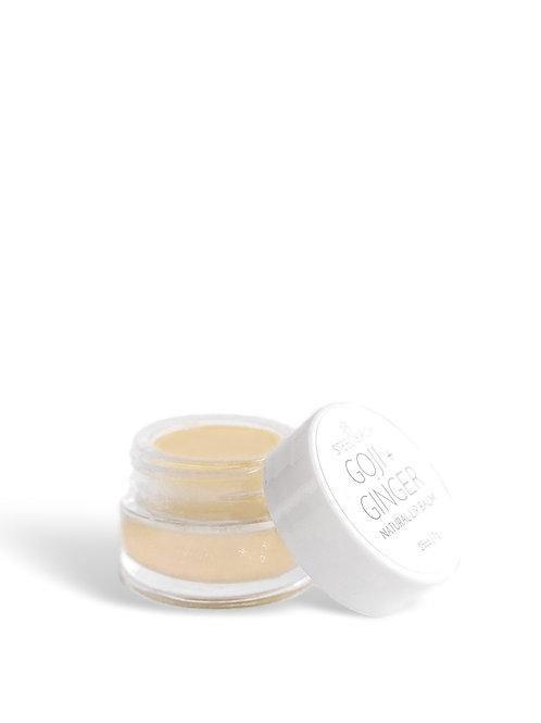 Goji Ginger Natural Lip Balm by Steel Birch