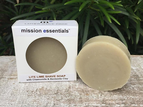 Shave Soap by Mission Essentials