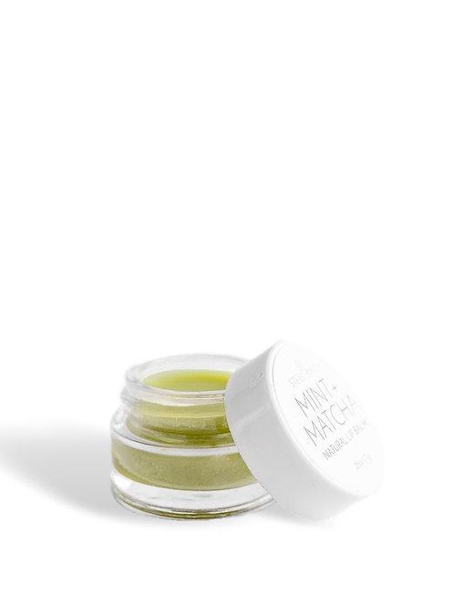 Mint Matcha Natural Lip Balm by Steel Birch