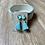 Thumbnail: Folly Beach Glass/Short Tassel Earrings by eluCook Designs