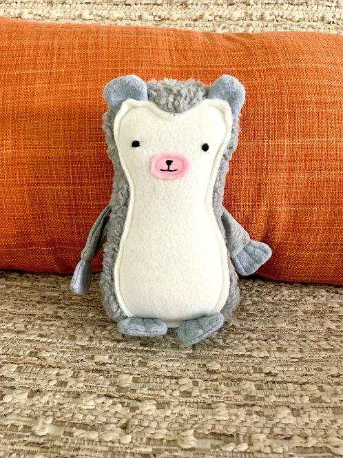 Happy the Hedgehog Stuffed Animal by The Stitchery Station by Alma