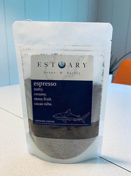 Mini Espresso Grind Coffee by Estuary Beans and Barley
