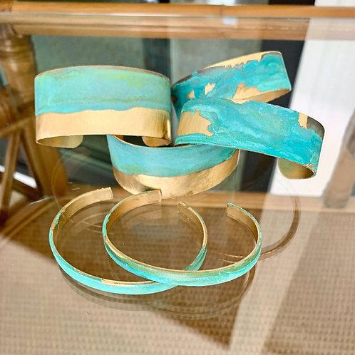Patina Cuff by Bright Star Designs