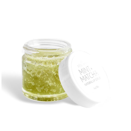 Mint Matcha Lip Scrub by Steel Birch
