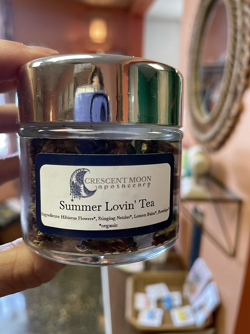 Summer Lovin' Tea Blend by Crescent Moon Apothecary