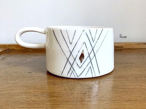 Porcelain Mug by Petrichor and Gold