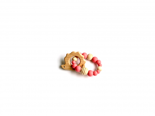 Hedgehog Teething Toy by The Little Dinosaur