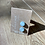 Thumbnail: Folly Beach Glass Stud Earrings by eluCook Designs