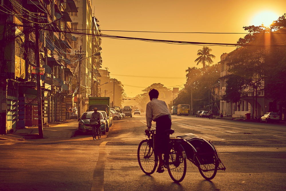 Streetview Yangon