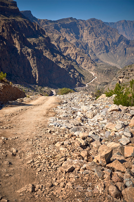 Dirt road, Country side Oman