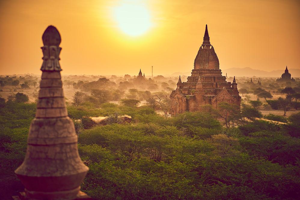 Tempels of Bagan Myanmar
