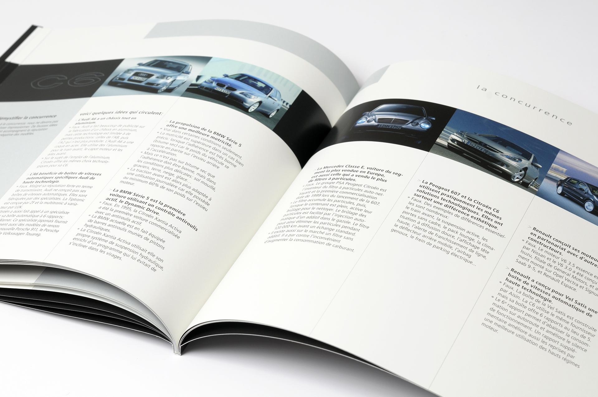 Ontwerp brochure Citroën C6