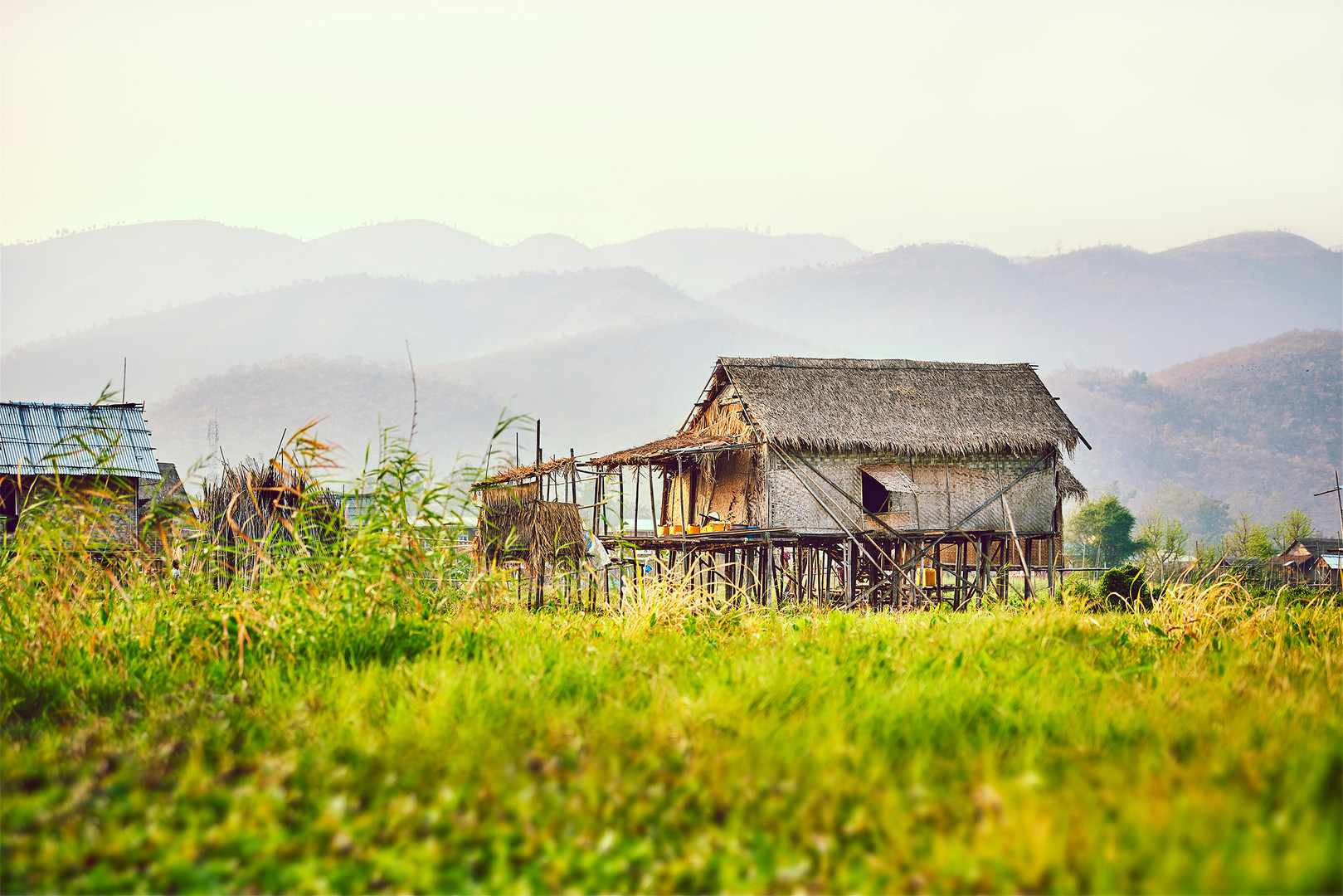 Country side Inle Lake