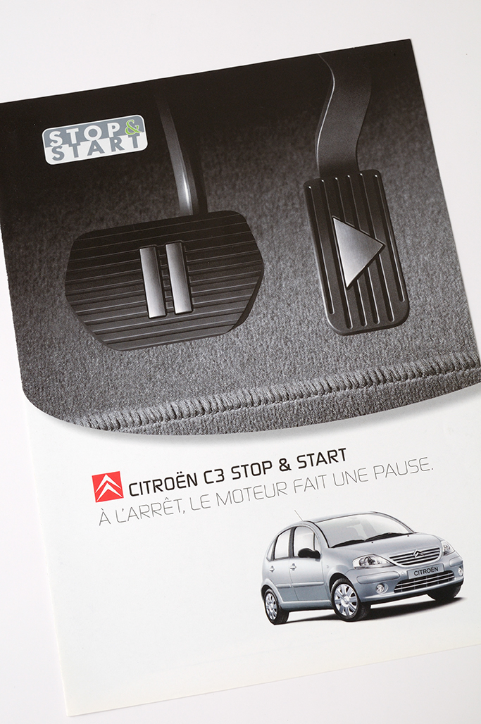 Folder Citroën C3 Start & Stop