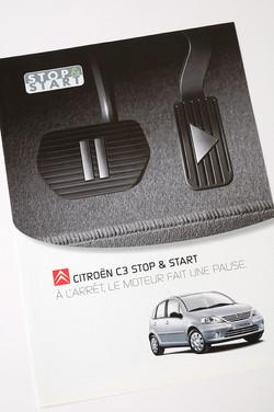Folder Citroën C3 Start & Stop