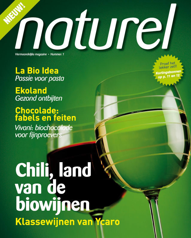 Cover Naturel magazine