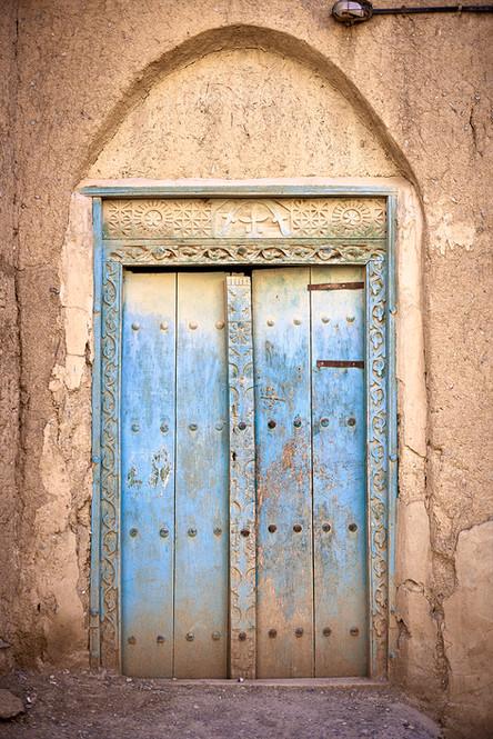 Old door Oman
