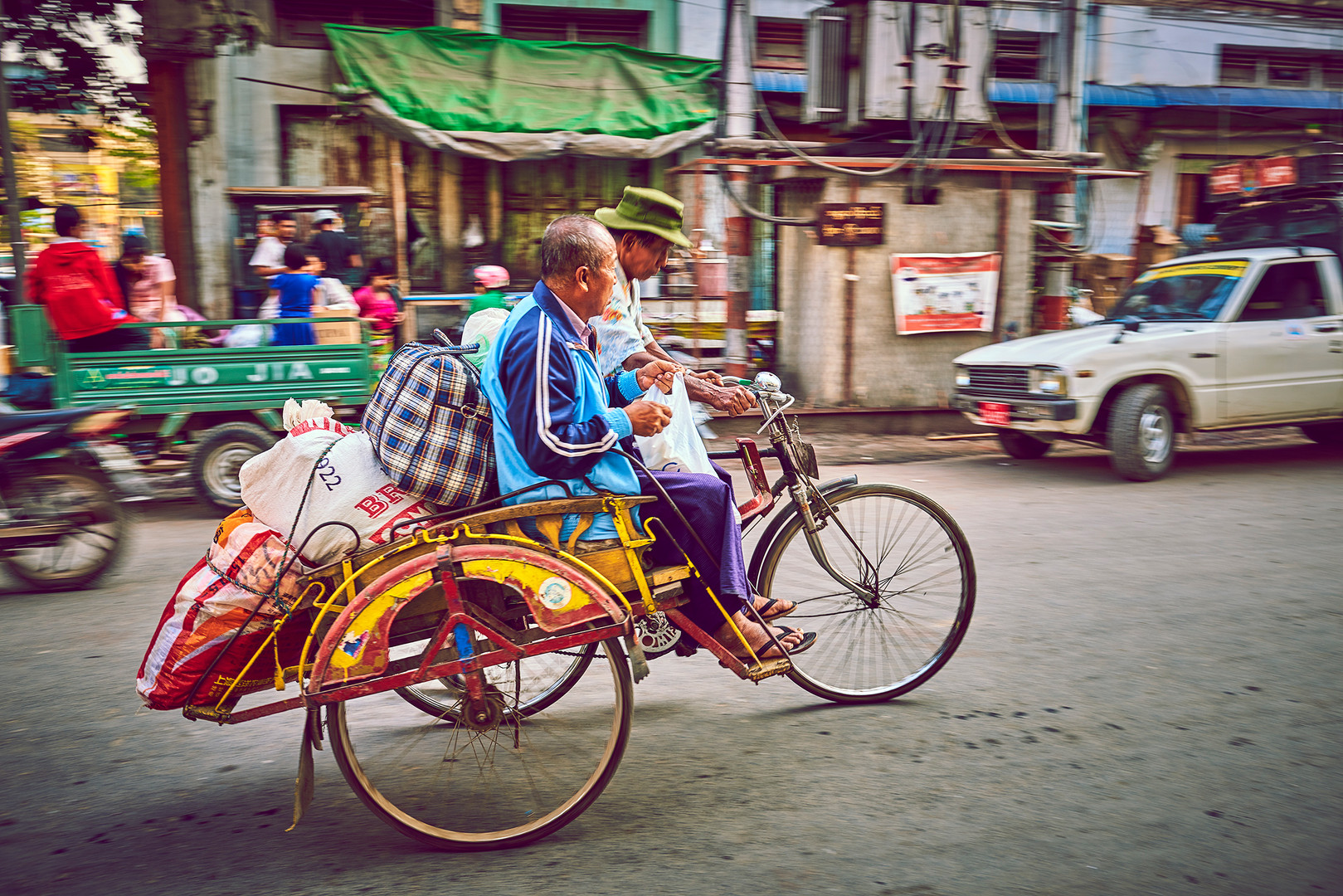 Rikshaw Myanmar