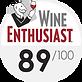 Wine Enthusiast 89 points sur 100