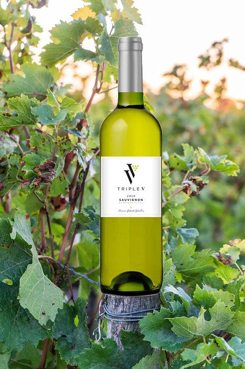 Triple V - Bordeaux Blanc Prix carton de 6 bouteilles :