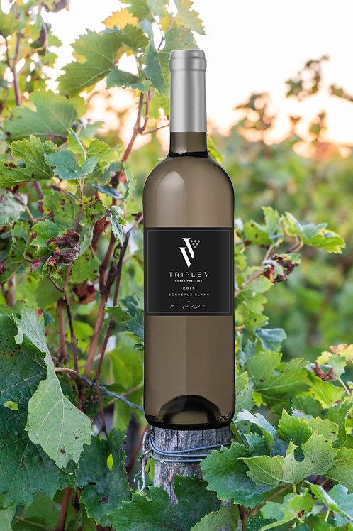 Triple V - Blanc Prestige    Prix carton de 6 bouteilles :