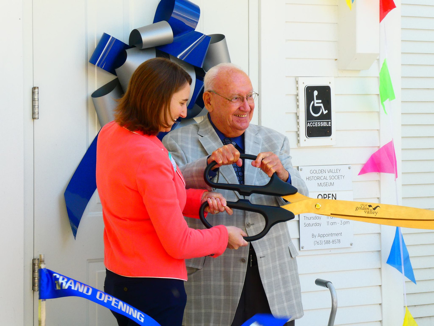 Official Opening of the GVHS Museum
