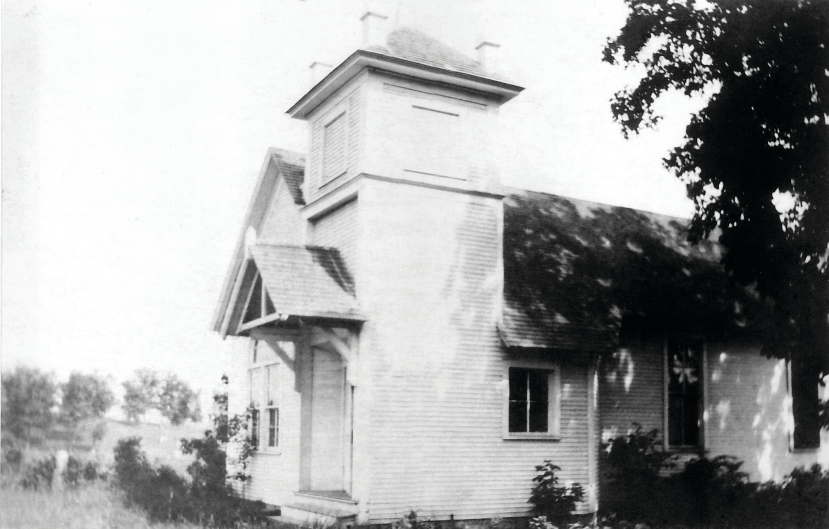 Little White Church in the 1930s