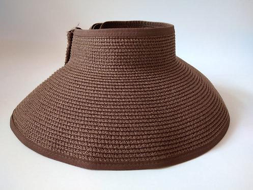 כובע קש חום פפיון 2