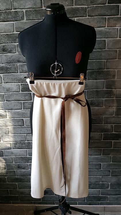 חצאית לייקרה לבנה M