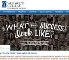 Westwood College homepage