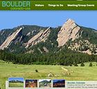 Boulder CVB homepage