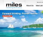 Miles Media homepage