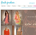 Fresh Produce Sportswear homepage
