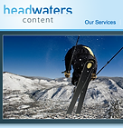 Headwaters Content homepage