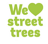 We love street trees logo woodland trust
