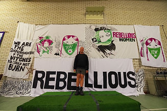 Rebellious Women 2019 Artist Stewart Mac
