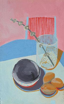 Still life -the kitchen table-