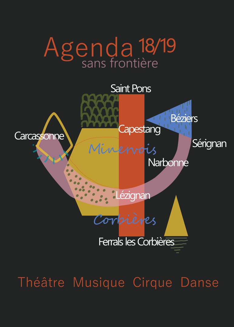 Front page cultural agenda and magasine  edition 2018/2019