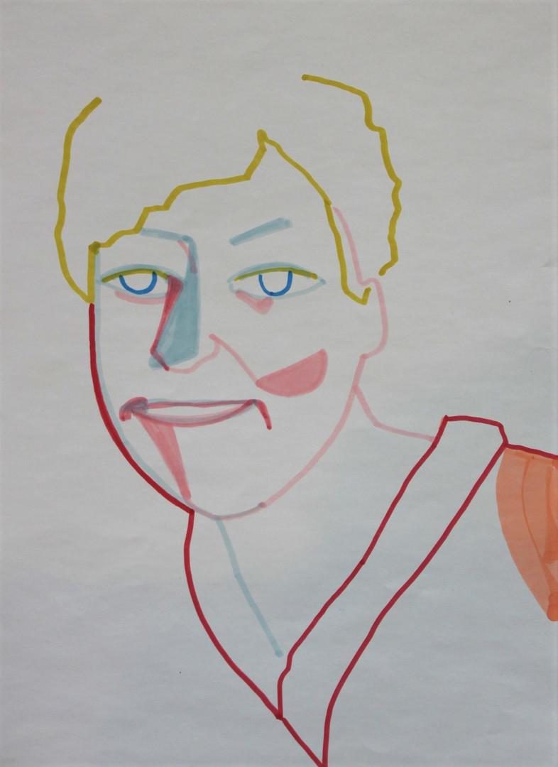 marker on paper